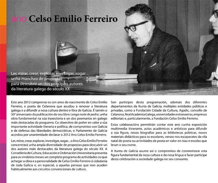 PROGRAMA Ano Celso Emilio Ferreiro - Ideia.gal